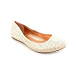 Material Girl Womens Dazzle Studded Ballet Flats