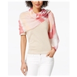 I-N-C Womens Multi-Stripe Wrap