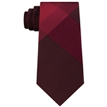 Kenneth Cole Mens Textured Colorblock Self-tied Necktie