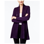 NY Collection Womens Pointelle Cardigan Sweater