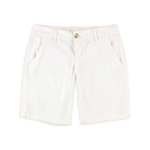 Aeropostale Womens Bermuda Twill Casual Chino Shorts