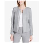 Calvin Klein Womens Flyaway Blazer Jacket