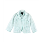 The Limited Womens Seersucker Blazer Jacket