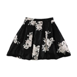 Sequin Hearts Womens Floral Pleated Flared Skirt