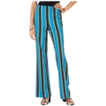 I-N-C Womens Striped Casual Wide Leg Pants