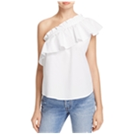 Birds Of Paradis Womens Ruffled One Shoulder Blouse