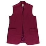 Anne Klein Womens Sleeveless Blazer Jacket
