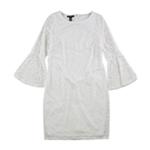 Alfani Womens Lace Sheath Shift Dress