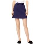 maison Jules Womens Bowtie Mini Skirt