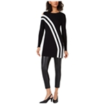 bar III Womens Striped Tunic Blouse