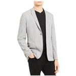 Calvin Klein Mens Pique One Button Blazer Jacket