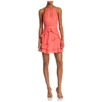 Parker Lifestyle Womens Pixie Ruffle A-line Dress