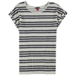 Vince Camuto Womens Striped Basic T-Shirt