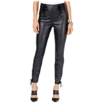 GUESS Womens Envy Coated Casual Trouser Pants