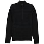 Alfani Mens Textured Front Cardigan Sweater