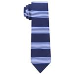 Tommy Hilfiger Mens Bold Premium Stripe Self-tied Necktie