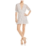 The East Order Womens Floral Mini Dress