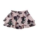 City Studio Womens Layered Tiered Skirt