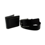 American Rag Mens Faux Leather Combo Belt