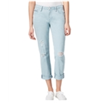 Jag Womens Ripped Boyfriend Fit Jeans