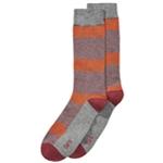 bar III Mens Colorblocked Striped Dress Socks