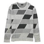 Alfani Mens Abstract Color Block Pullover Sweater