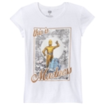 Star Wars Girls C-3PO And R2-D2 Graphic T-Shirt