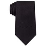 Sean John Mens Holiday Unsolid Self-tied Necktie