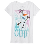 Disney Girls I'm Olaf Graphic T-Shirt