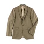 Kenneth Cole Mens Sharkskin Two Button Blazer Jacket