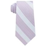 Calvin Klein Mens Cloud Stripe Self-tied Necktie