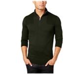 I-N-C Mens Quarter Zip Pullover Sweater