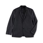 Kenneth Cole Mens Grid Two Button Blazer Jacket