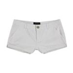 Aeropostale Womens Eyelet Casual Walking Shorts