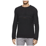 Calvin Klein Mens Multi-Textured Pullover Sweater