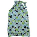 Buckhead Betties Womens Abstract Tie Neck Choker Dress