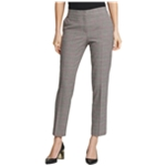 DKNY Womens Houndstooth Casual Trouser Pants