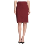 DKNY Womens Solid Pencil Skirt