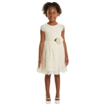 Rare Editions Girls Sequin A-line Dress