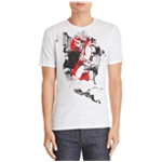 Prps Goods & Co. Mens 2 Map Graphic T-Shirt