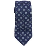 Tasso Elba Mens Medallion Linen Self-tied Necktie