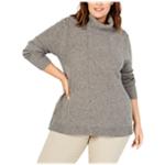 Belldini Womens Turtleneck Tunic Knit Sweater