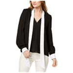 Rachel Zoe Womens Sequined-trim Pullover Blouse