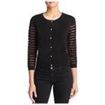 Finity Womens Sheer Cardigan Sweater