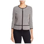 Finity Womens Geometric Ponte Jacket