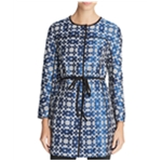 Finity Womens Floral Ponte Jacket