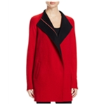 Finity Womens Two Tone Pea Coat