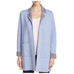 Finity Womens Knit Pea Coat