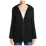 Finity Womens Quilted Sparkle Hoodie Sweatshirt