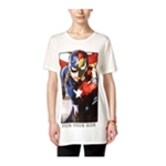 Mighty Fine Womens Avengers Pick Your Side Graphic T-Shirt